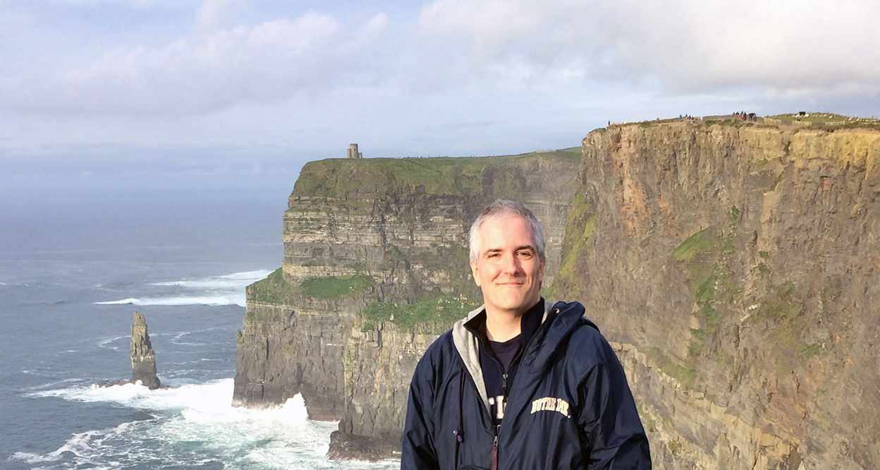 Pat Moriarty in Ireland